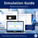 PhET Balancing Equation Simulation for Google Docs/Google Classroom (NGSS)