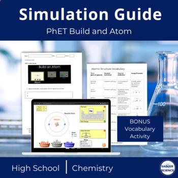 PhET Build an Atom Simulation for Google Doc/Google Classroom (NGSS)
