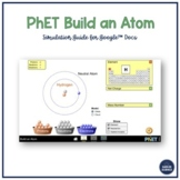 PhET Build an Atom Simulation for Google Doc/Google Classroom (NGSS)