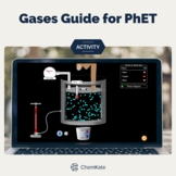 Chemistry Gases: Temperature & Pressure Activity Guide for PhET