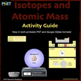 PhET Isotopes and Atomic Mass Activity Guide