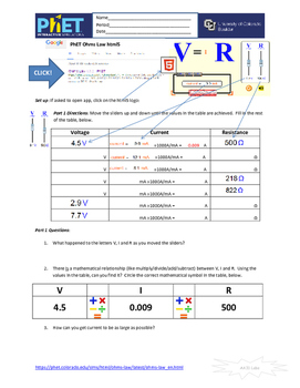 phet electromagnetic lab answers