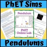 PhET Simulation: Period of a Pendulum Online Lab