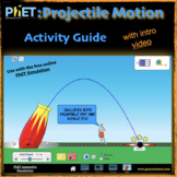 PhET Projectile Motion activity guide