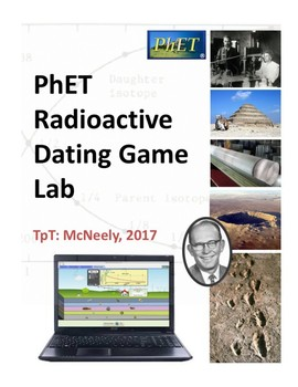 PhET Radioactive Dating Game Lab