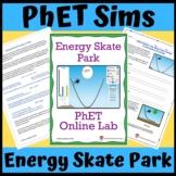 PhET Simulation: Energy Skate Park, Conservation of Energy