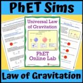 PhET Simulation: Newton's Law of Universal Gravitation
