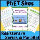 PhET Simulations: Electric Circuits, Resistors in Series &
