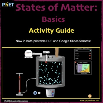PhET States of Matter Activity Guide
