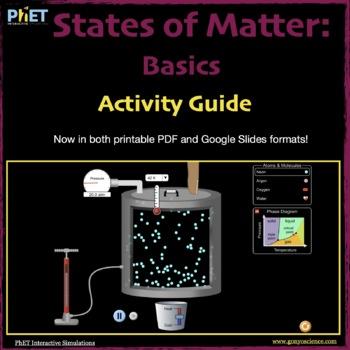 PhET States of Matter activity guide