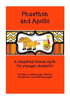Phaethon and Apollo - Roman Mythology