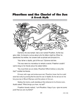 Phaethon and the Chariot of the Sun
