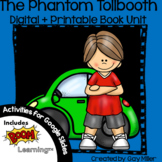 The Phantom Tollbooth Novel Study: vocabulary, comprehension, writing, skills