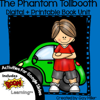 The Phantom Tollbooth Novel Study Bundle