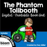 The Phantom Tollbooth Novel Study: vocabulary, comprehensi