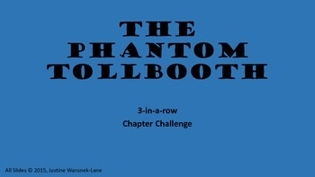 Phantom Tollbooth Chapter Challenge