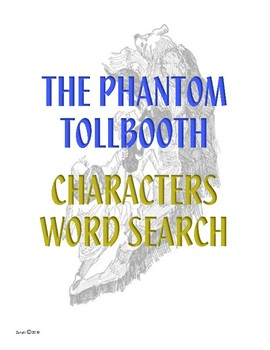 Phantom Tollbooth Characters Word Search