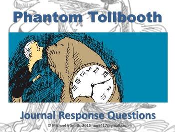 Phantom Tollbooth - Journal Response Questions - Norton Juster