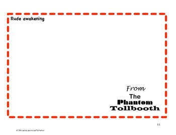 Phantom Tollbooth: Noteworthy Expressions