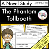 The Phantom Tollbooth Novel Study Unit: comprehension, vocab, activities, tests