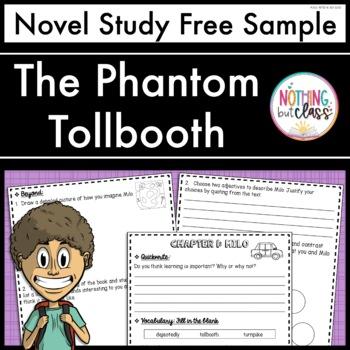 The Phantom Tollbooth Novel Study Unit: FREE Sample