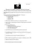 Phantom of the Opera, Behind the Scenes Worksheet