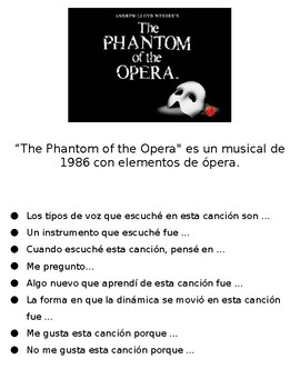 Phantom of the Opera Music Review