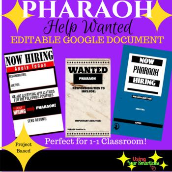 Pharaoh - Help Wanted Poster