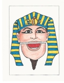 Pharaoh Paper Bag Puppet
