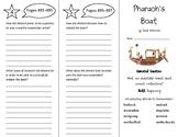 Pharaoh's Boat Trifold - Wonders 6th Grade Unit 6 Week 4
