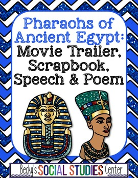 Pharaohs of Ancient Egypt: A Project with Four Choices