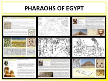 Pharaohs of Ancient Egypt - Mini Unit
