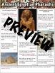 Pharaohs of Ancient Egypt Worksheet
