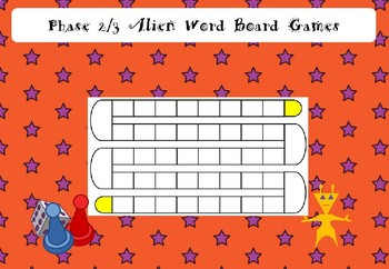 Phase 2/3 Alien Word Board Game