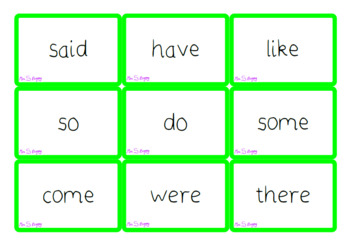 Phase 2-6 flash cards (north and south)