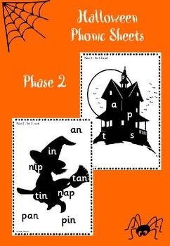 Phase 2 - Halloween Phonic Sheets