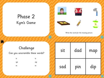 Phase 2 - Kym's Game
