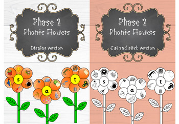 Phase 2 - Phonic Flowers