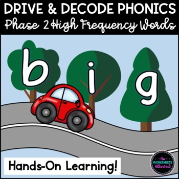 Phase 2 Phonics High Frequency Word Activity