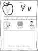 Phonics - Sound Practice Pages - 27 NO PREP pages! Short Vowels, Initial, Final!