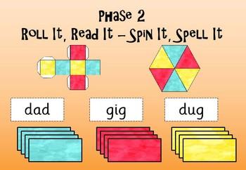 Phase 2 - Roll It Read It - Spin It Spell It