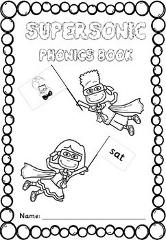 Phase 2 Revision Pack - Supersonic Phonics