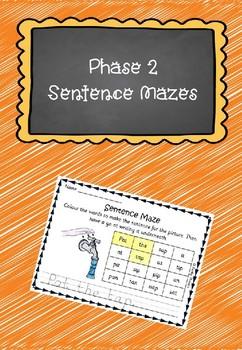 Phase 2 Sentence Mazes