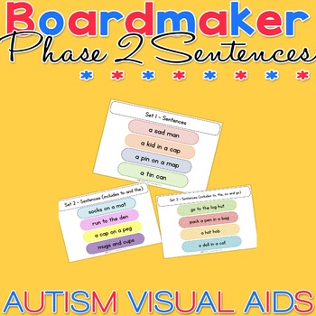 Phase 2 Sentences - Reading Practice - Phonics