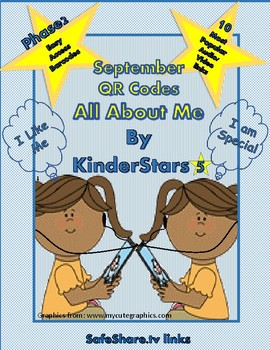 "Phase 2- September ""All About Me "" QR Code Listening Center"