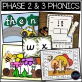 Phase 2 and 3 Phonics High Frequency Word Games Bundle