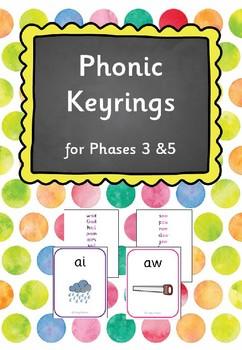 Phase 3 & 5 Phonic Key Rings