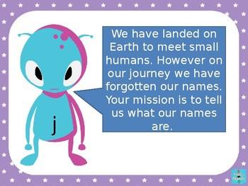 Phase 3 - Alien Word PowerPoint