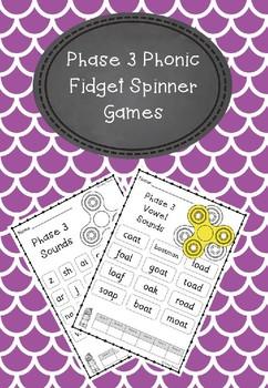 Phase 3 - Fidget Spinner Games