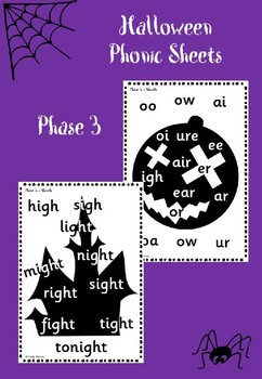 Phase 3 - Halloween Phonic Sheets
